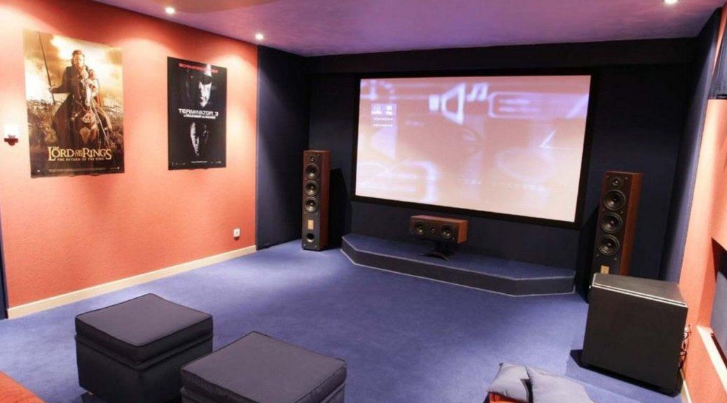 home cinéma salle de cinéma personnelle